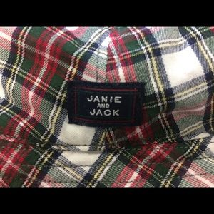 Janie and Jack - new with tags reversible hat